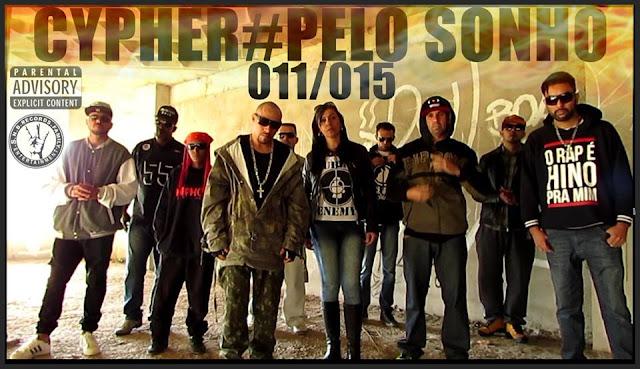 S.N.B.RECORDS.FAMILY APRESENTA CYPHER # PELO SONHO 011/015 MF