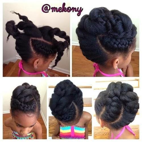 Hair challenges id es de coiffure sur les cheveux cr pus - Voila institute of hair design kitchener ...