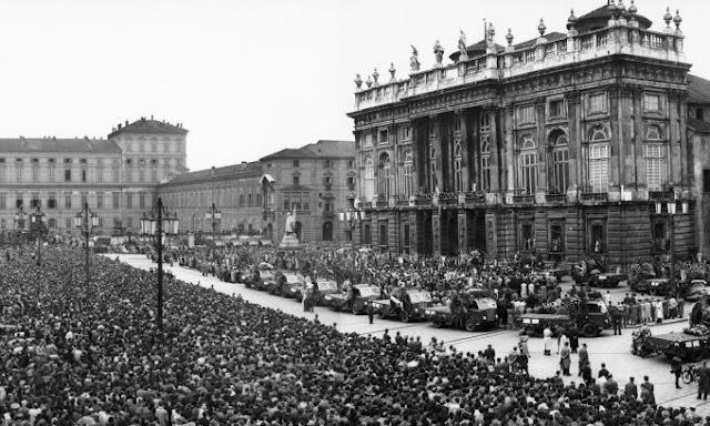 Corteo funebre Grande Torino
