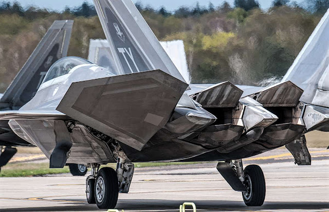F-22 Raptor Moving Rear Tail, Primary Control Surface