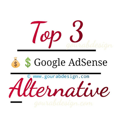 top 3 google adsense alternative for blogspot