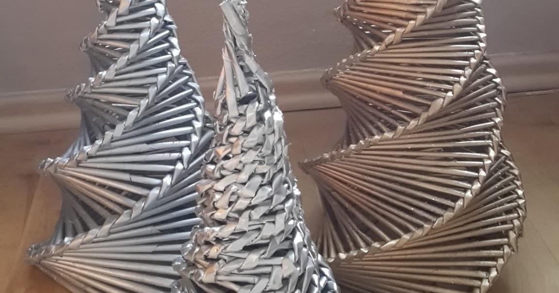 mary 39 s kreativ blog weihnachtsbaum aus zeitungsr llchen last minute geschenke. Black Bedroom Furniture Sets. Home Design Ideas