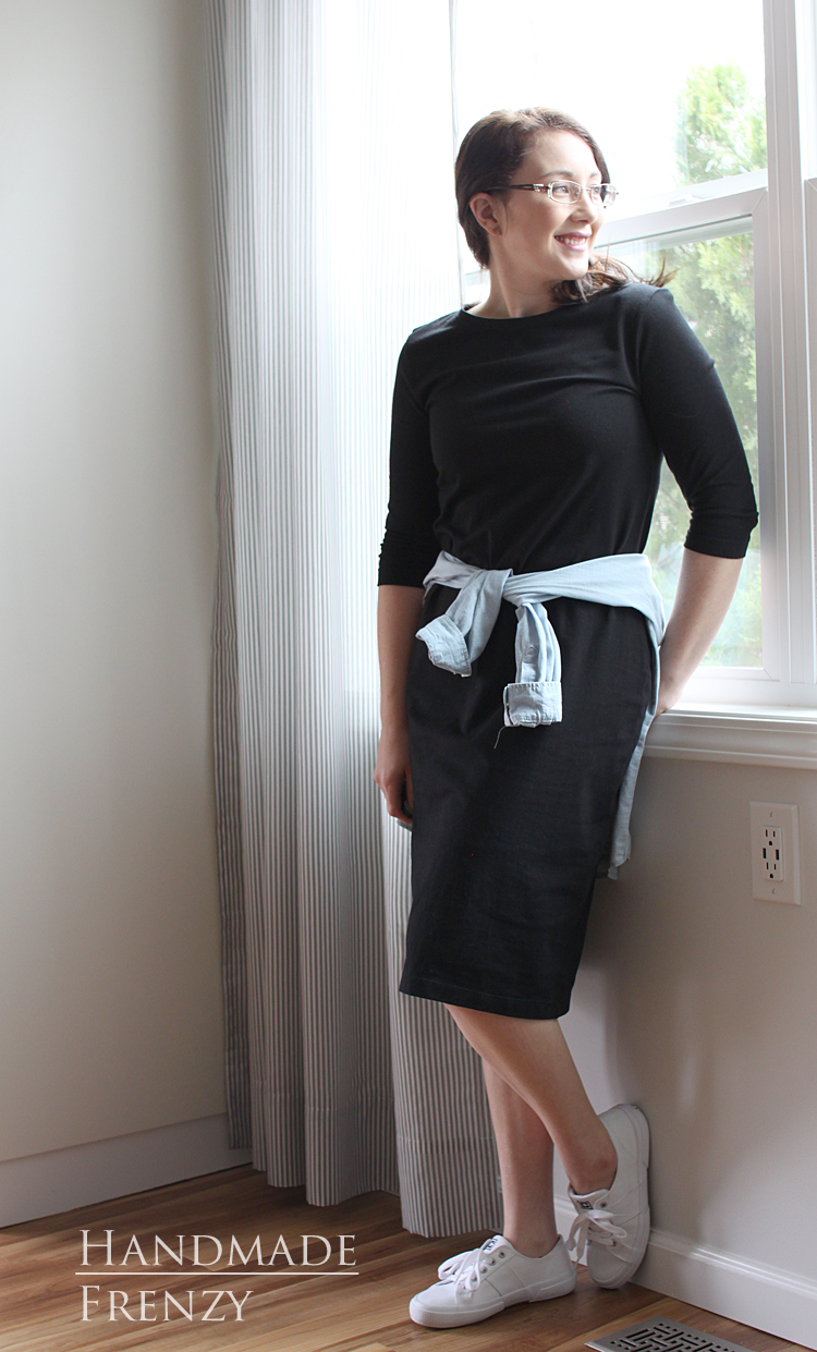 Panama Tee Dress // Sewing For Women