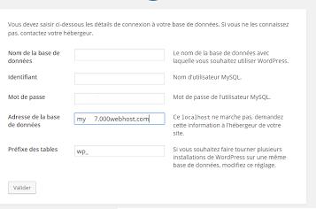 طريقة تركيب الوورد بريس على استضافة 000webhost المجانية