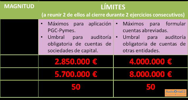 BOICAC 100 consulta 1 parámetros formulación Cuentas Anuales abreviadas