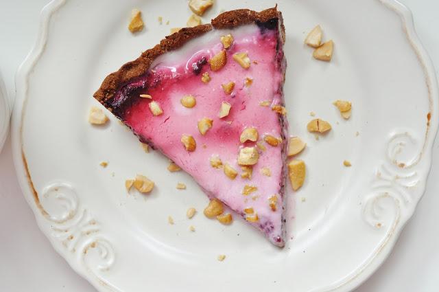 Ombre tarta LCHF z owocami | bezglutenowa, bez laktozy, bez pieczenia, bez cukru, niskowęglowodanowa |