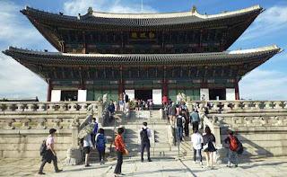 Wisata Korea Selatan - Istana Gyeongbok