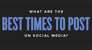 Best Time To Post on 5 Social Media Sites?