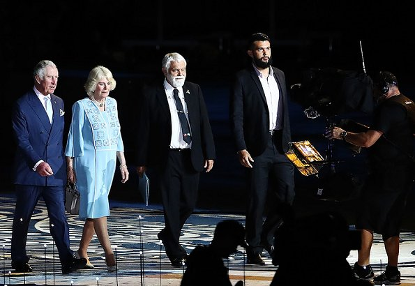 Prince of Wales and the Duchess of Cornwall attended opening ceremony of Gold Coast 2018 Commonwealth Games