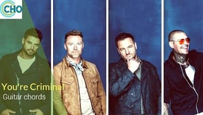 YOU'RE CRIMINAL guitar chords by BOYZONE Accurate | Thank You & Good Night