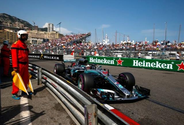 Formula 1 Monaco GP radio messages