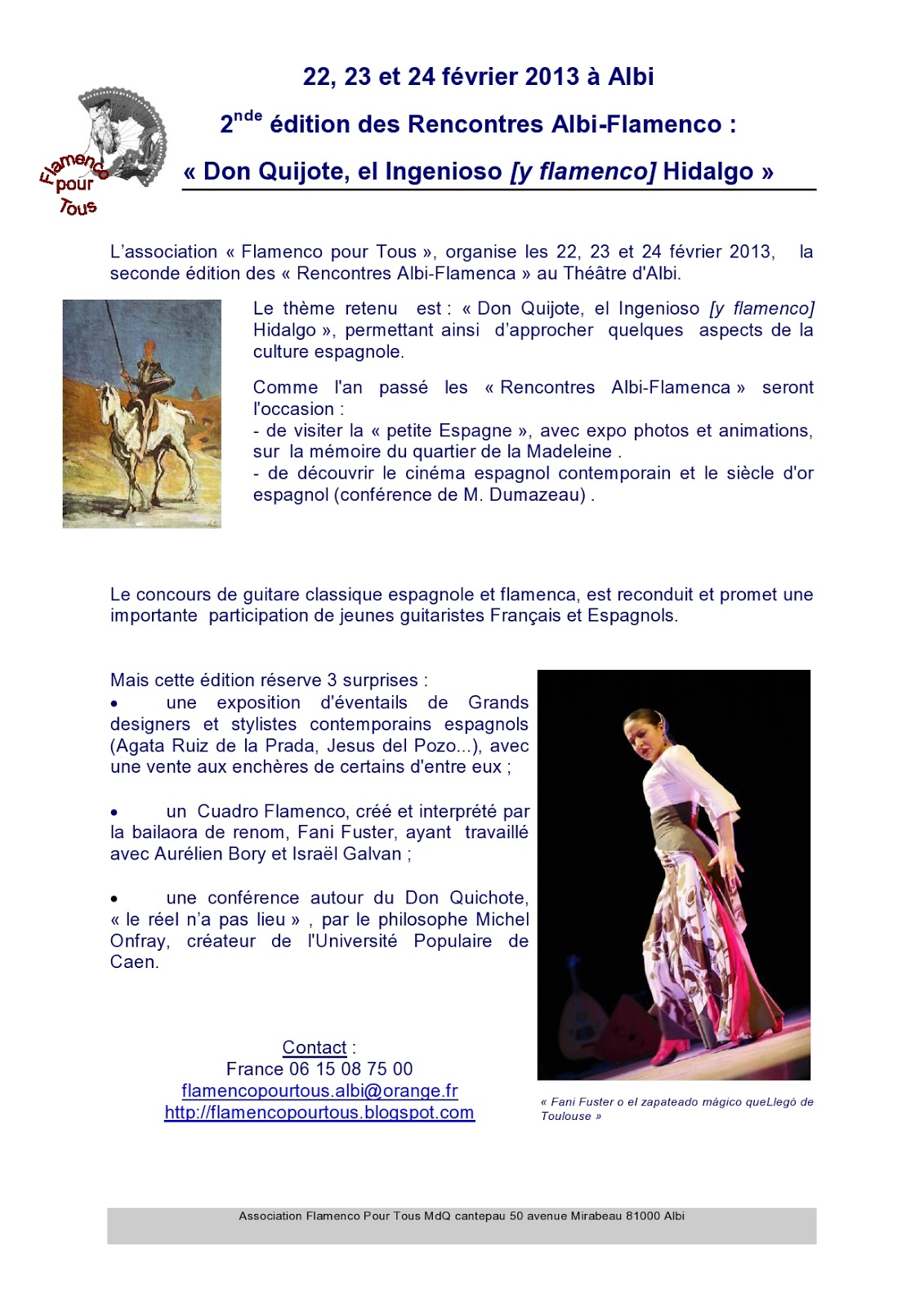 Rencontre albi flamenco