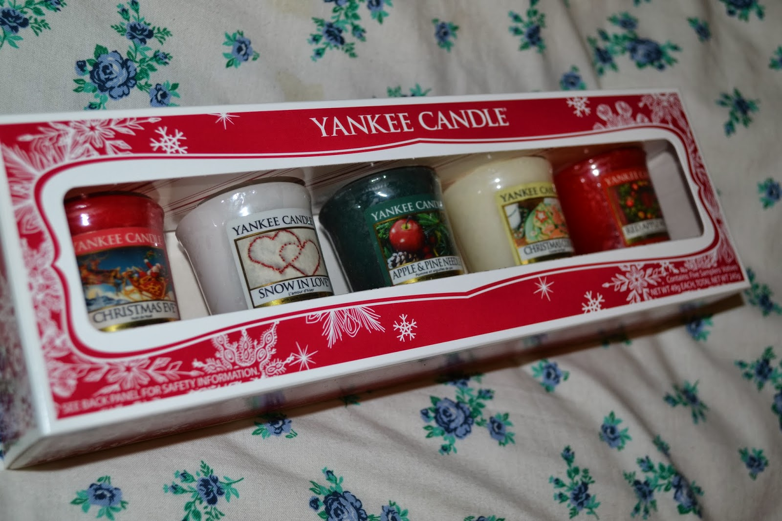 Christmas Gift 2 Yankee Candle Sampler Set Honestly Russell