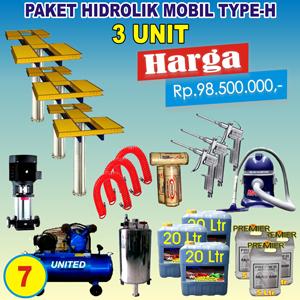 Paket Hidrolik-H 3 Unit