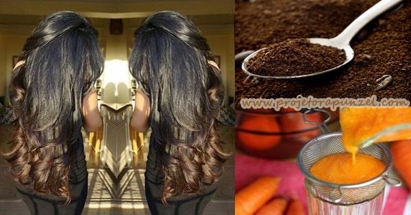 Mel de Café e Cenoura Caseiro para o Crescimento Capilar: Passo a Passo