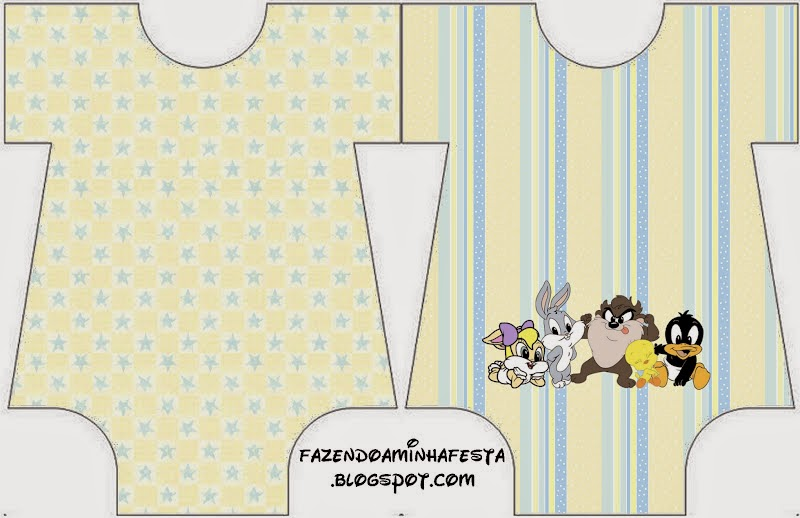 Looney Tunes Babies: Free Printable Invitations. | Oh My Baby!