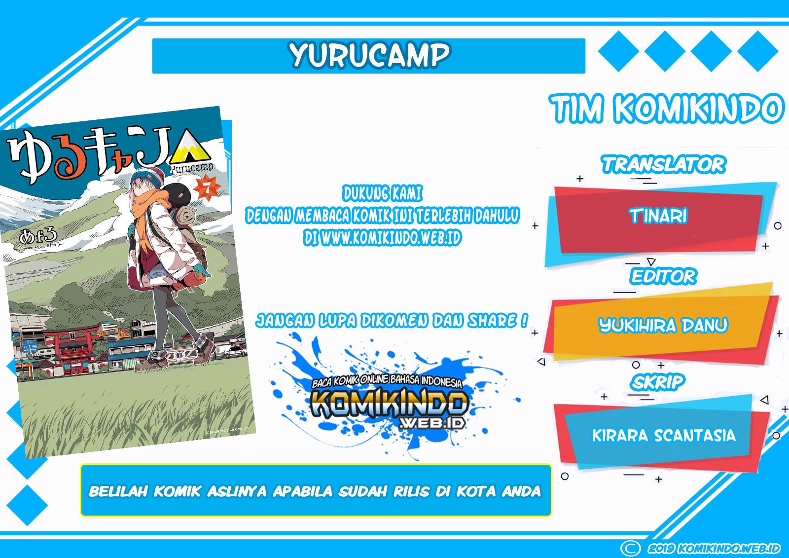 Dilarang COPAS - situs resmi www.mangacanblog.com - Komik yuru camp 013 - chapter 13 14 Indonesia yuru camp 013 - chapter 13 Terbaru 1|Baca Manga Komik Indonesia|Mangacan
