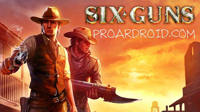 لعبة Six-Guns: Gang Showdown v2.9.4l مهكرة كاملة للاندرويد (اخر اصدار) logo