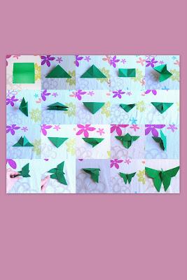 les ateliers deloumy tuto papillon en origami. Black Bedroom Furniture Sets. Home Design Ideas