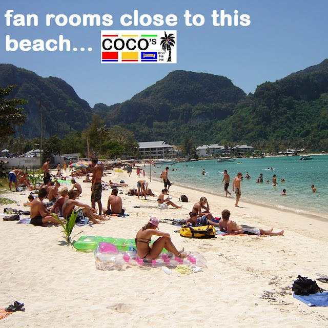 Coco's Guesthouse close to Loh Dalum Beach, Koh Phi Phi