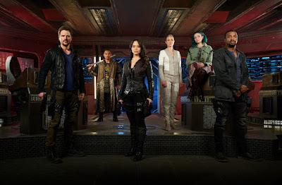 Elenco terceira temporada de Dark Matter - Divulgação