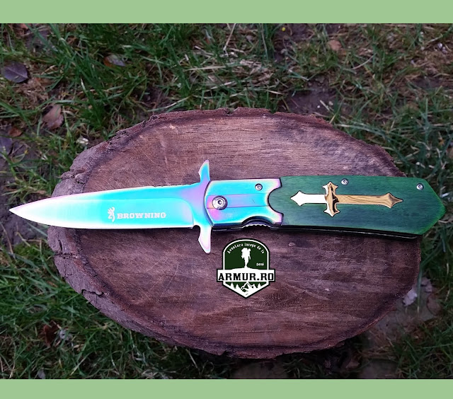 Briceag Browning Fade Cruce Rainbow Curcubeu Verde Green