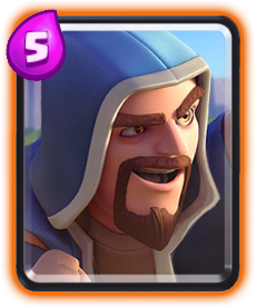 Wizard/Mago de Clash Royale