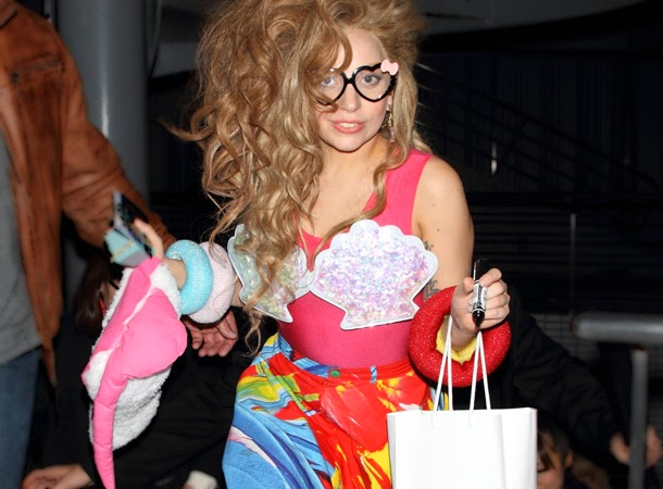 Lady Gaga Spotted Heading to a Tokyo Restaurant - Little