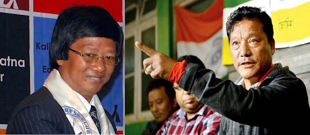 Lopsang Lama new president of GJM announced by Bimal Gurung