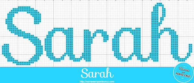 Nome Sarah em Ponto Cruz