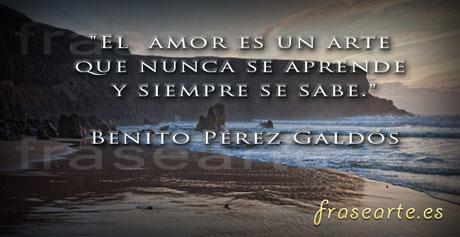 Citas de Amor de Benito Pérez Galdós