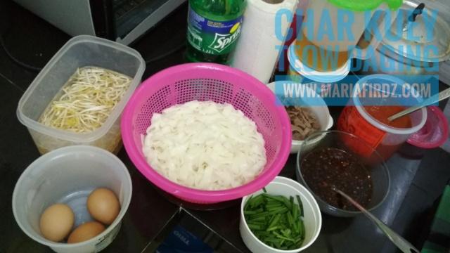 Resepi Char Kuey Teow Daging
