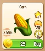 New Changes to Corn, Crystal Posy, and Golem in Royal Story