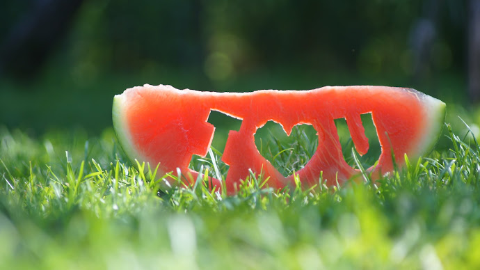 Wallpaper: Watermelon - I Love You