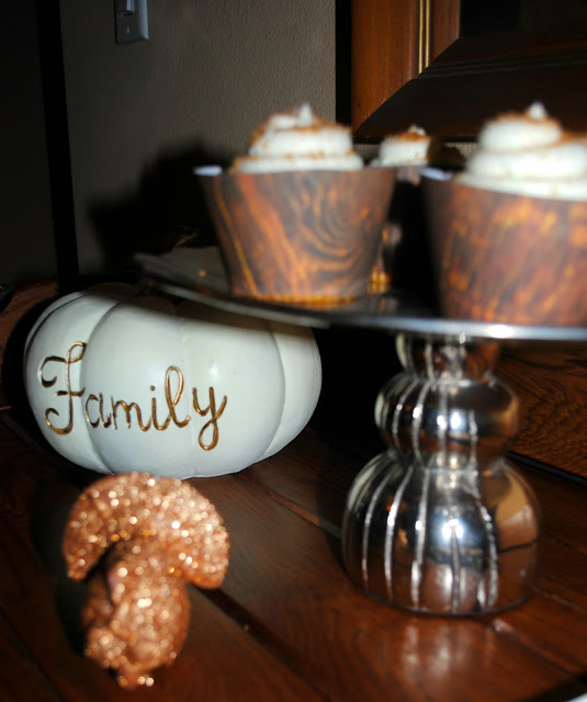 Thanksgiving dessert table styled by Fizzy Party