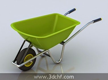 construction cart 3d model