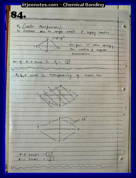 Chemical-Bonding Notes chemistry12
