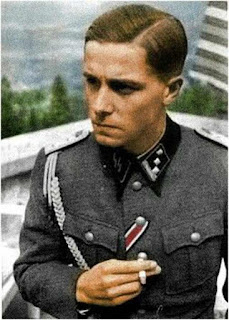 Jochen Peiper Color photos of German officers worldwartwo.filminspector.com