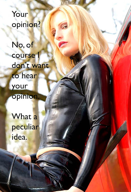 caption femdom dismissive and uninterested domme
