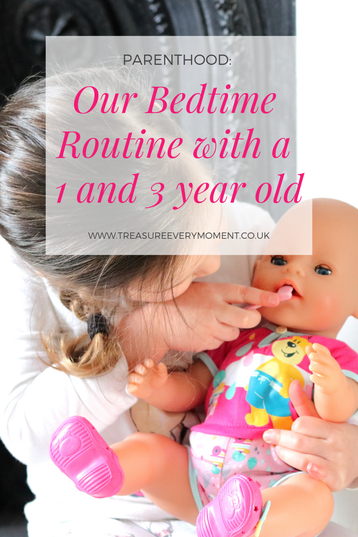 PARENTHOOD: Our Bedtime Routine with a 1 and 3 year old