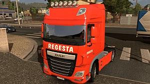 DAF Euro 6 Regesta skin mod