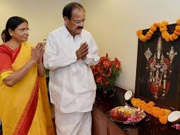 Venkaiah Naidu Family Wife Son Daughter Father Mother Age Height Biography Profile Wedding Photos