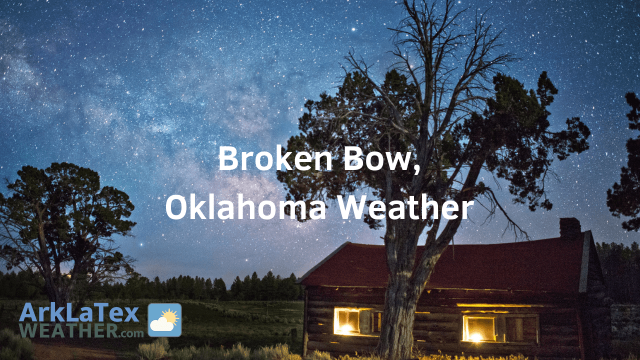 Broken Bow, Oklahoma, Weather Forecast, McCurtain County, Broken Bow cabins, Broken Bow weather, BrokenBowNews.com, ArkLaTexWeather.com