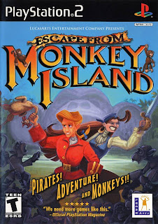 Escape from Monkey Island (PS2) 2001