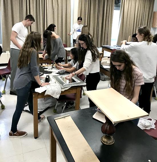 Sharing Repurposing Skills with High School Students