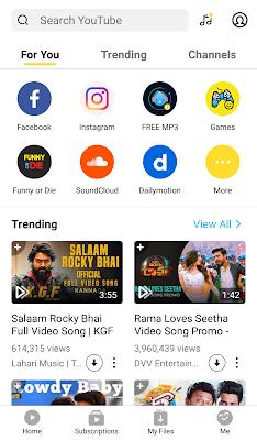 Snaptube app install - Best Downloader