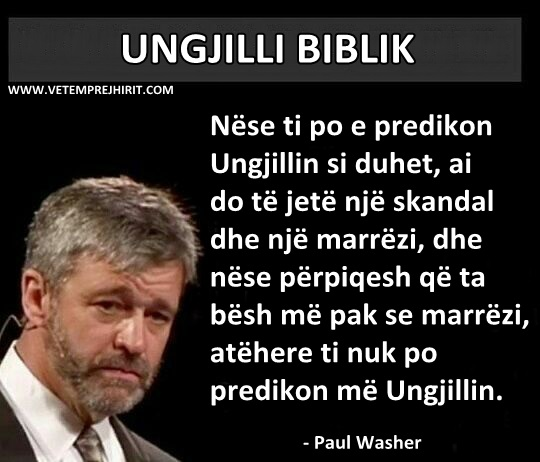 thenie biblike, paul washer shqip,