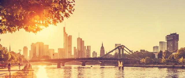 Verão em Frankfurt