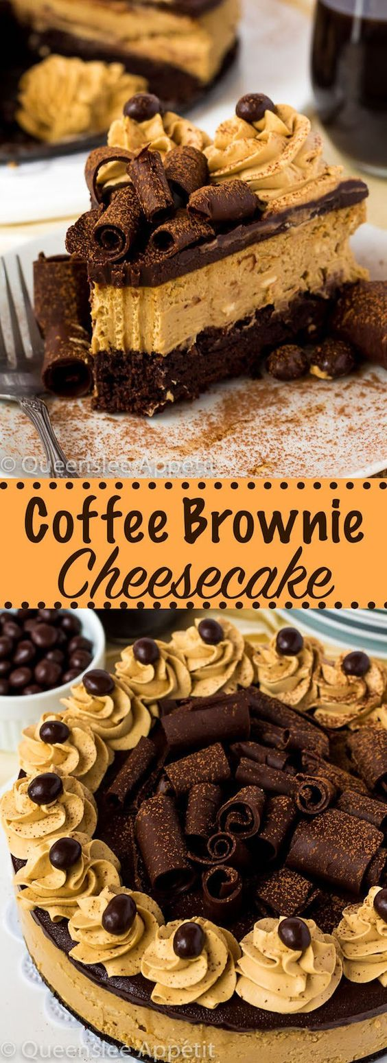 Coffee Brownìe Cheesecake