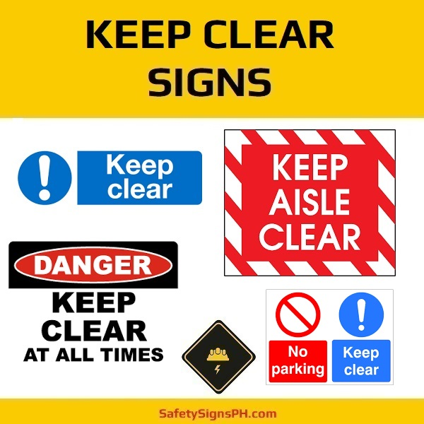 Keep Clear Signs Philippines